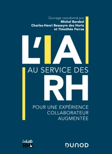 """Leihia contribue à la rédaction de l'ouvrage """"L'IA au service des RH"""""""